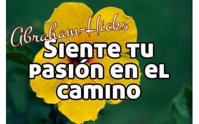 Siente tu pasión en el camino ~ Abraham-Hicks en español