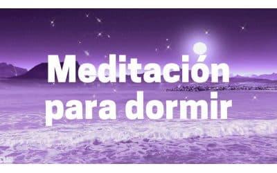 Meditación para dormir y relajarse profundamente