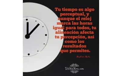 Tu tiempo es algo perceptual