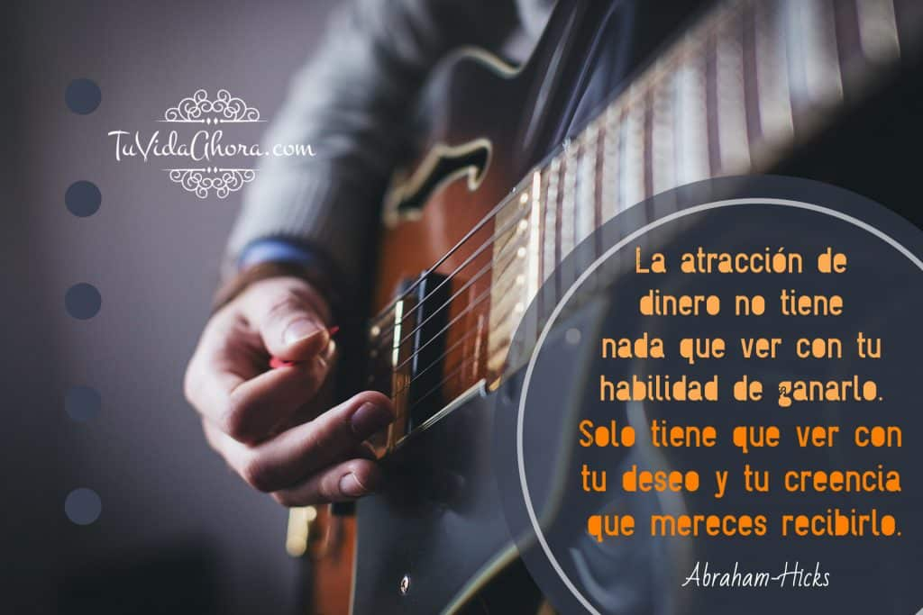 abraham hicks mereces dinero
