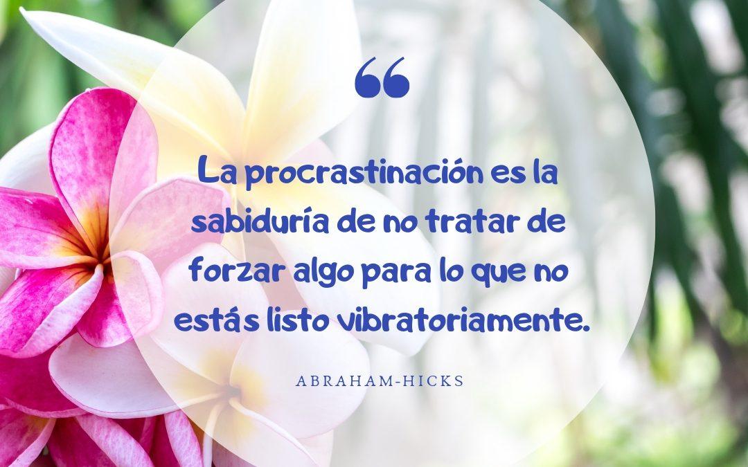La procrastinación