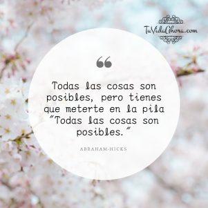 Todo es posible