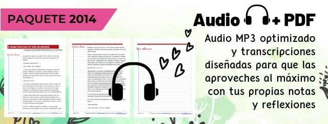 Audio + PDF Abraham-Hicks en español