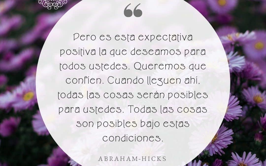 Expectativa positiva