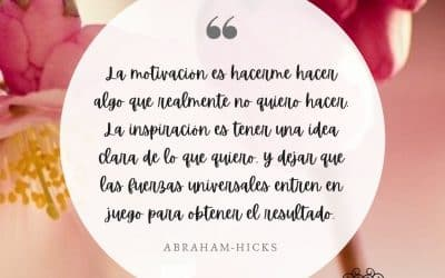 La motivación vs la inspiración